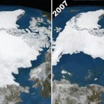 Arctic Sea Ice, Sep 1979-Sep 2007
