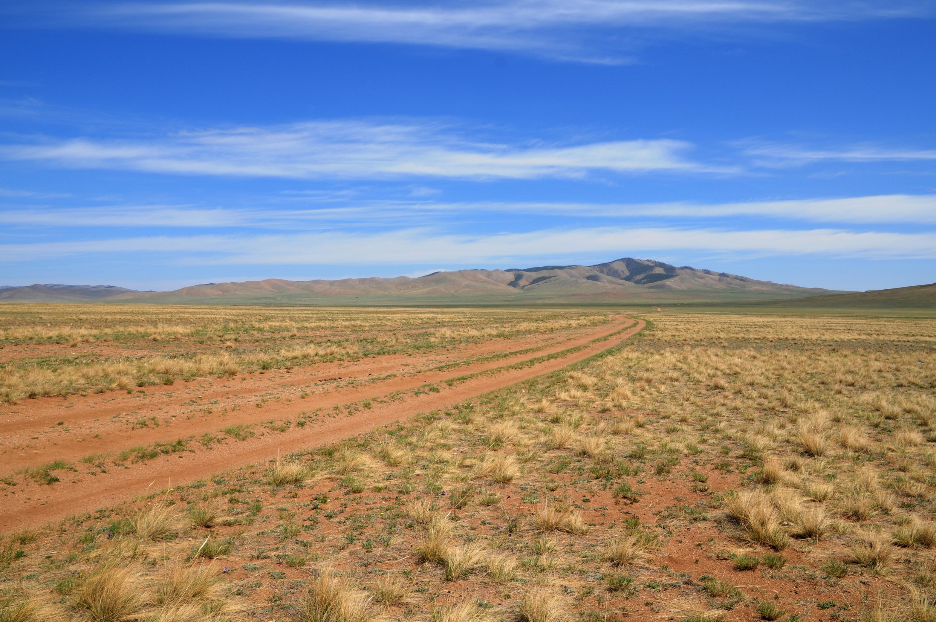 Desert Steppes in Yol Valley, Mongolia